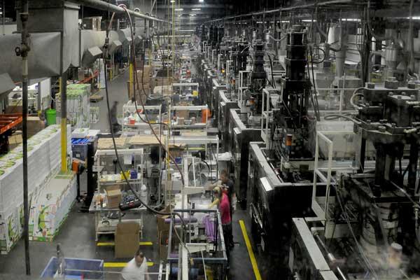 Custom-Pak blow molding production line